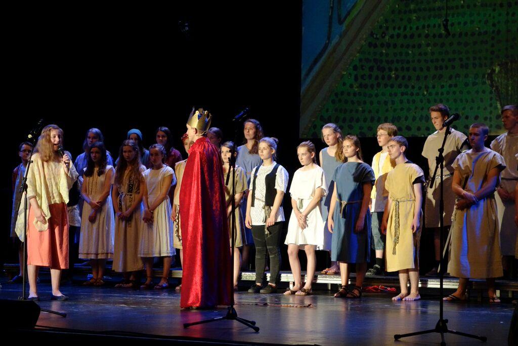 23 5nach5 Musicalaufführung auf dem DEKT Stuttgart